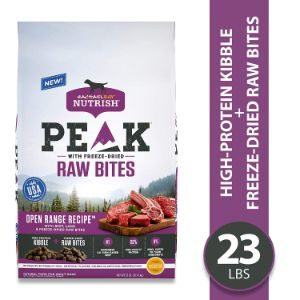 Rachael Ray Nutrish Peak Natural Dry Dog Food with Freeze Dried Raw Bites