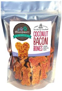 Threepaws Gourmet Organic Vegan Dog Treats