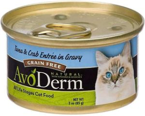AvoDerm Natural Tuna Wet Canned Cat Food
