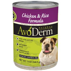 Avoderm Natural Weight Control Canned Wet Dog Food