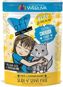 B.F.F. PlayGrain-Free Natural Wet Cat Food Pouches