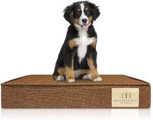 Brentwood Home 4-Inch Gel Memory Foam Dog Bed