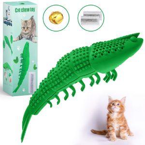 BringerPet Interactive Cat Chew Toy Cat Toothbrush