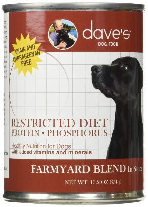 Dave's Pet Food Dog Food Restricted Diet Canned Dog Food