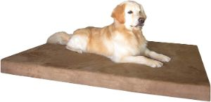 Dogbed4less XXL Orthopedic Gel Cooling Memory Foam