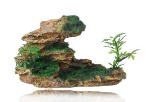 FEDOUR Aquarium Mountain View Stone Ornament