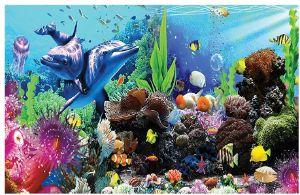 Fantasy Star Aquarium Background