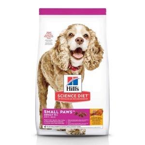 Hill's Science Diet Dry Dog Food, Adult 11+ For Senior Dogs, Small Paws for Small Breeds