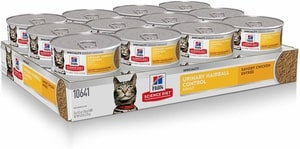 Hill's Science Diet Wet Cat Food for Urinary & Hairball Control
