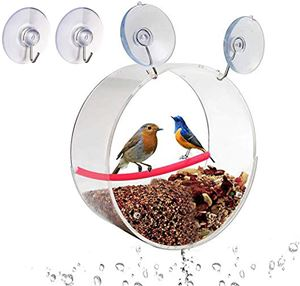 HomeTee Window Bird Feeder