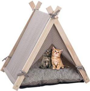 LuckerMore Cat Teepee Tent