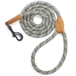 Mile High Life Leather Tailor Mountain Climbing Dog Rope Leash