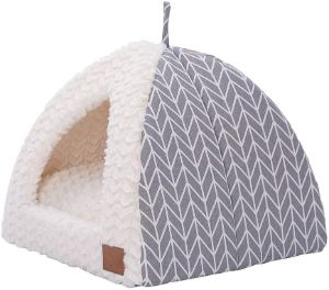 Miss Meow Triangle Cat Tent Bed