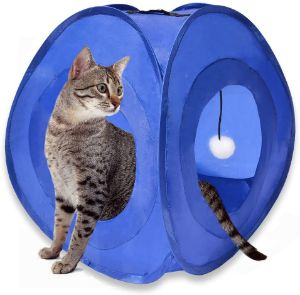 MyDeal Instant Pop Up Cat Play Tent