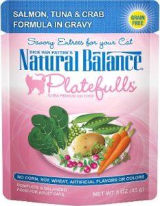 Natural Balance Platefulls Grain Free Wet Cat Food