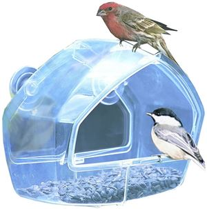 Perky Pet Birdscapes Clear Window Feeder