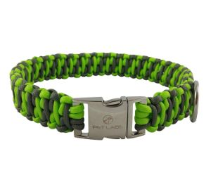 Pet Labs Paracord Dog Collar with Buckle