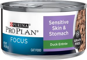 Purina Pro Plan Sensitive Stomach, Grain Free Wet Cat Food