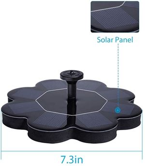 Qualife Solar Water Fountain