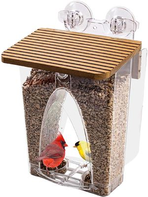 Roamwild Beautiful Arch Window Wild Bird Feeder