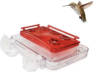 Sherwoodbase Window Hummingbird Feeder