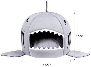 Tordes Shark Cat Tent Bed