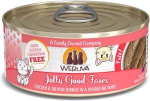Weruva Grain Free Natural Wet Pate Cat Food Cans
