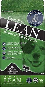 Annamaet Grain Free Lean Reduced Fat Formula Dog Food
