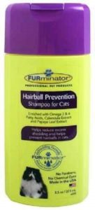 Furminator Hairball Prevention Cat Shampoo
