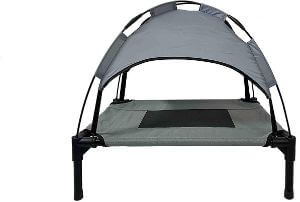 Midlee Dog Cot with Canopy