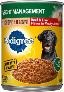 Pedigree Chopped Ground Dinner Weight Management