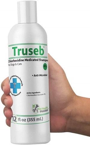 Truseb Chlorhexidine 4% Medicated Shampoo