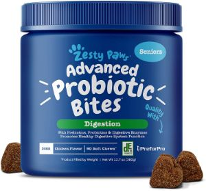 Zesty Paws Probiotic for Dogs