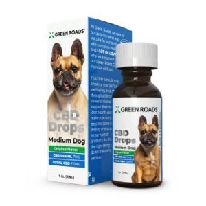 green roads pet CBD drops formula