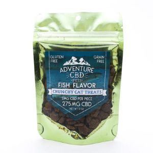 Adventure CBD CBD Cat Treats (Fish Flavor)