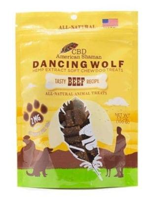CBD American Shaman Dancing Wolf Soft CBD Dog Treats