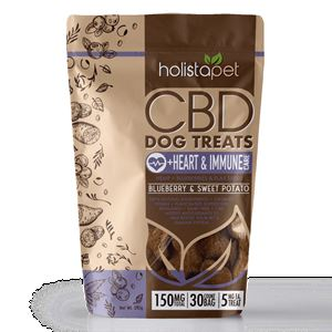 HolistaPet CBD Dog Treats +Heart & Immune Care