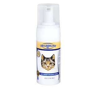CBD Living Cat Moisturizing Foam