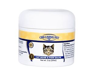 CBD Living Cat Nose & Paw Salve