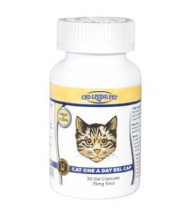 CBD Living Gel Capsules Cat