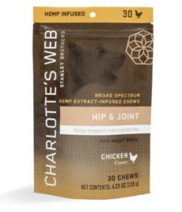 Charlotte's Web HIP & JOINT CHEWS FOR DOGS