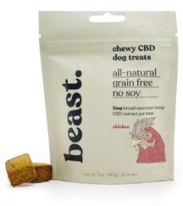 beast supplies chewy CBD dog treats
