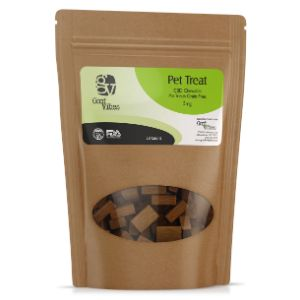 Good Vibes CBD Chewable Pet Treats Grain Free