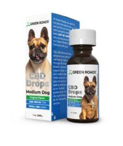 Green Roads CBD DROPS Medium Dog