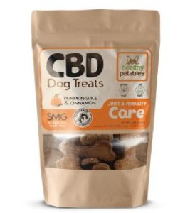 Healthy Petables CBD Dog Treats for Joint & Mobility