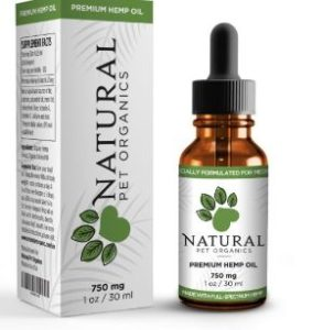 Natural Pet Organics CBD Oil For Medium and Large Dogs