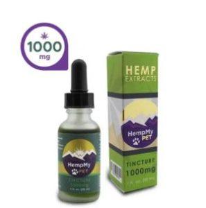 HempMy Pet Organic Hemp Seed Oil, 1000mg Full Spectrum CBD