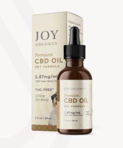 Joy Organics CBD Oil Tincture for Pets 225mg