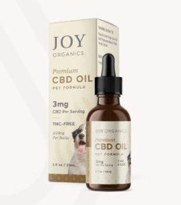 Joy Organics CBD Oil Tincture for Pets 450mg