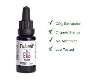 NuLeaf Naturals Full Spectrum Hemp CBD Pet Oil